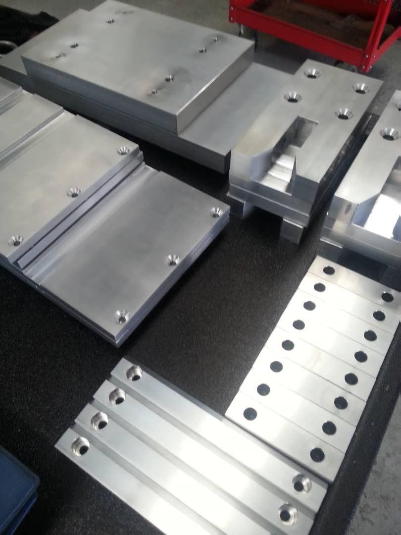 Aluminium Packaging Machine Parts