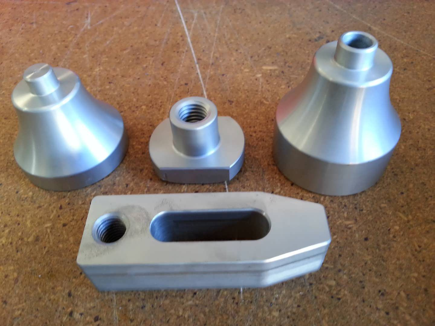 Nitrided Clamp & Risers