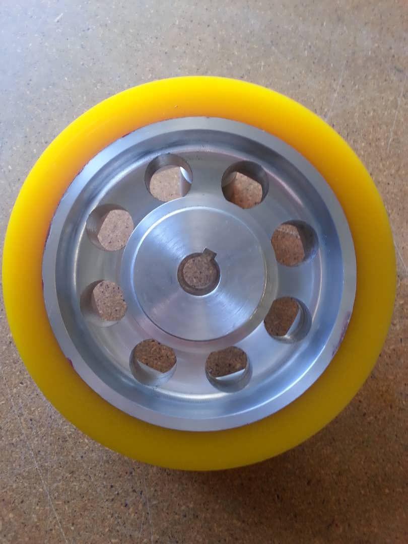 Ureathane Donkey Wheel